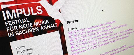 IMPULS 2012: Presseinformationen