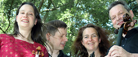 Kammerensemble Talea: Jens Marggraf (Klavier), Dorothea Vogel (Violine), Anja Starke (Klarinette), Uwe Stahlbaum (Cello)